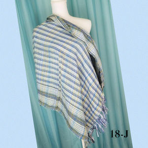 Collection 18 Olive Runway Plaid Wrap 27X72